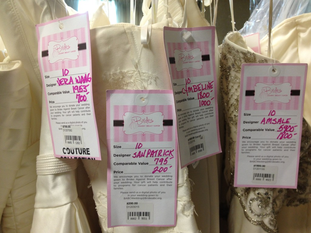 Brides Against Breast Cancer 1