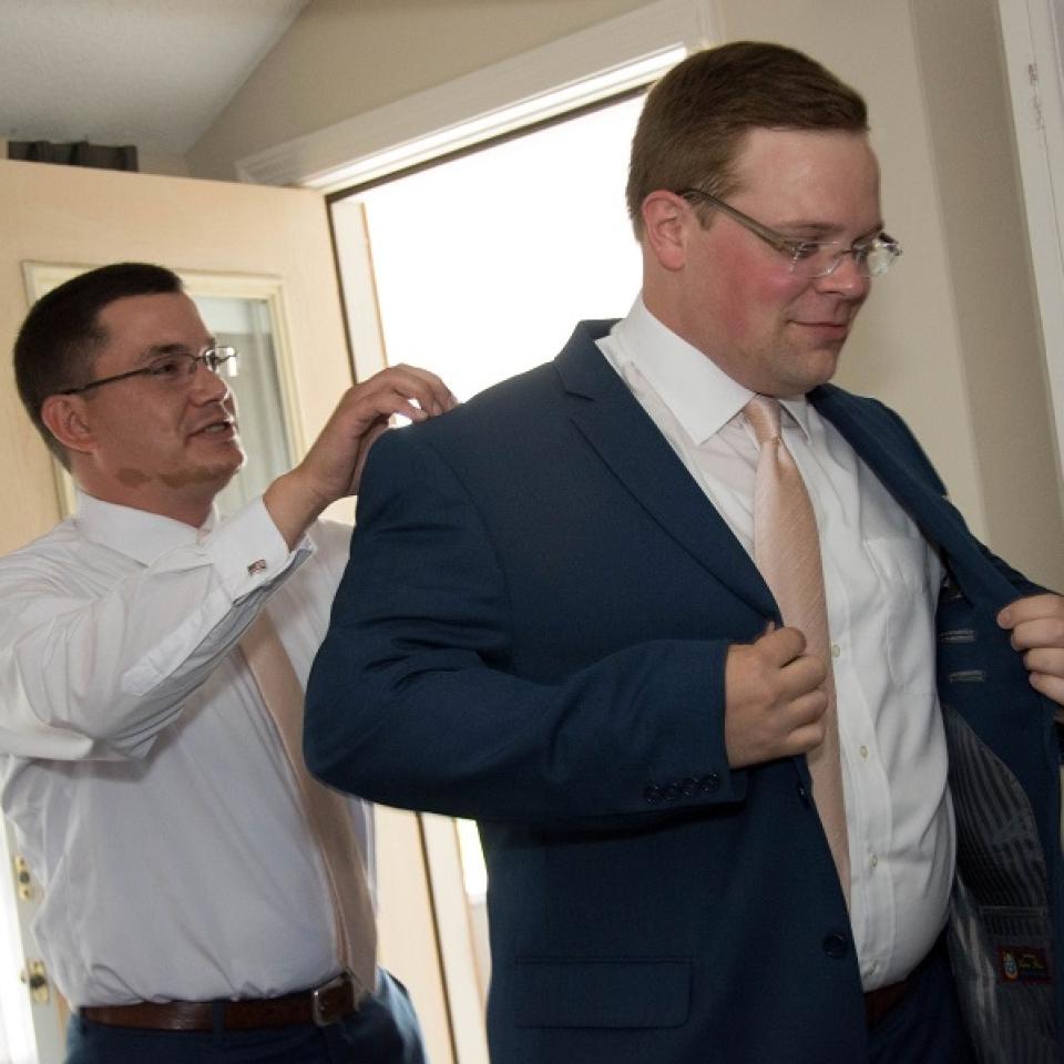 Franklin Rogers suit