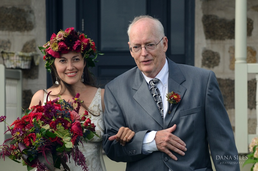 Gillian's favorite moment from the day was dancing with her father, who also walked her down the aisle.