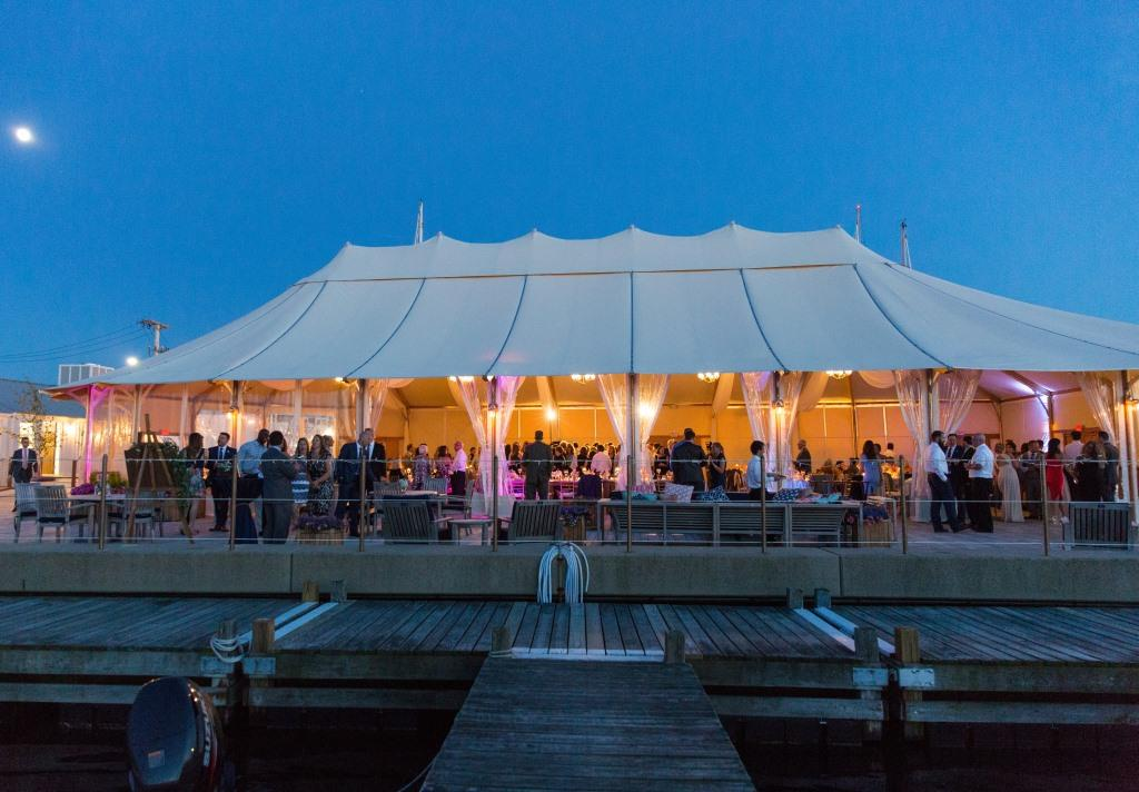The Bohlin Night Tent Shot compressed & New Venue Alert: The Bohlin - Rhode Island Monthlyu0027s Engaged