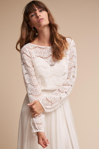 Maureen Topper by BHLDN